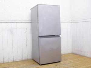 AQUA・2018年製・2ドア冷蔵庫・AQR-13H・126L・アクア・中古品・144084