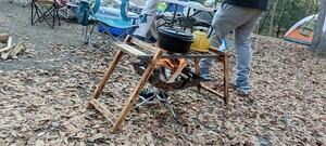 ファイヤーグリル 天板のみ 五徳 キャンプ テーブル ユニフレーム