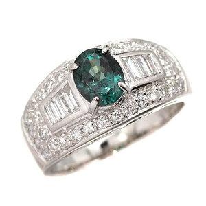 Platinum Alexand Light Diamond Ring AX1.50CT D0.76CT 13 PT900