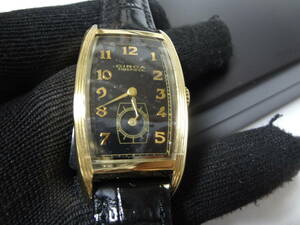 CIRCA (サーカ) CT116TB 腕時計 黒革ベルト 展示未使用品
