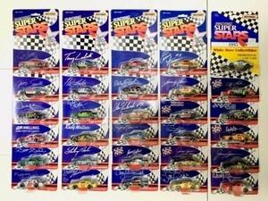 期間限定セール!【 激レア!30台セット 】貴重 RACING SUPER STARS ナスカー ミニカー WHITE ROSE NASCAR MATCHBOX マッチボックス アメ車