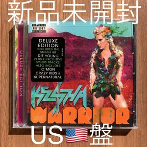 Ke$ha Kesha ケシャ WARRIOR ウォーリア US盤 新品未開封
