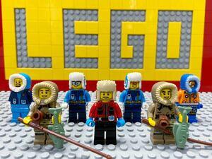 ☆防寒着☆ レゴ ミニフィグ ロシアン帽子 北極探検隊 アイスフィッシャーマン ( LEGO 人形 シティ 南極 ミニフィギュアシリーズ