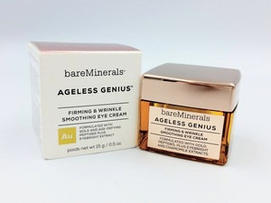 △bare Minerals ベアミネラル AG ジーニアス アイ クリーム 15g 未使用