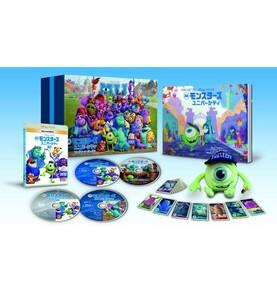 ディズニー ピクサー モンスターズ・ユニバーシティ コンプリート・ボックス MovieNEX 3D Blu-ray DVD 4枚組