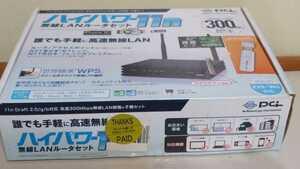 プラネックスコミュニケーションズ ハイパワー11n 無線LANルーターセット 親機+子機セット Wi-Fi 有線LANポート4基搭載
