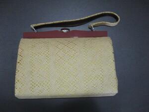 ハンドバッグ 中古品 がま口 中古品 レディース ゆうパック60サイズ
