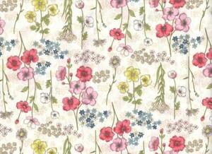 シーチング 平織生地 綿生地 小花柄