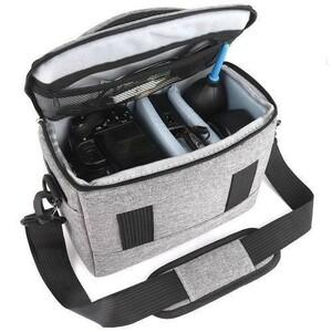 ◆最安!!◆デジタルカメラかばん 一眼レフカメラバッグ 収納 レンズケース ショルダーバッグ ポーチ 防水 写真 趣味 2色