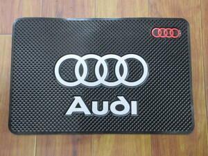 【送料無料】ノンスリップマット アウディ Audi 滑り止め 小物置き A1 A3 A4 A5 A6 A7 A8 Q3 Q5 Q7 R8 TT S3