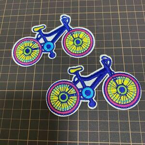 アイロンワッペン 自転車