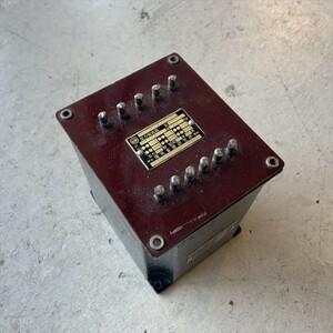 電機音響研究所 DOK 807-4A トランス チョークコイル 動作未確認 ジャンク カスタム DIY ハンドメイド 真空管 アンプ パーツ