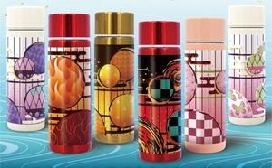 (6種類セット/6個セット)「水筒」鬼滅の刃模様柄 ステンレスミニボトル 約150ml 飲みきりサイズ水筒[送料込み]