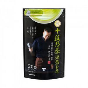 宇治森徳 十段乃茶 深蒸し茶 ティーバッグ (4g×20P)×10袋(a-1610095)