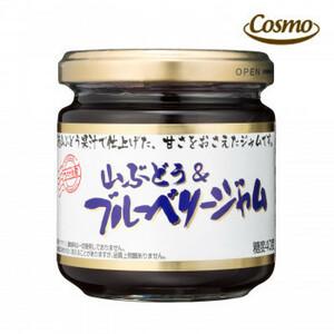 コスモ食品 ひろさき屋 山ぶどう&ブルーベリージャム 185g 12個×2ケース(a-1645292)