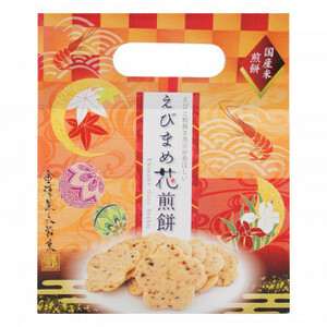 金澤兼六製菓 ギフト えびまめ花煎餅手提げタイプ 6枚入×30セット PT-EH(a-1633559)