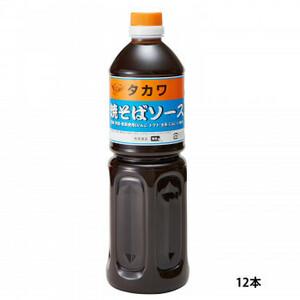 和泉食品 タカワ焼きそばソース(中濃) 1000ml(12本)(a-1654248)