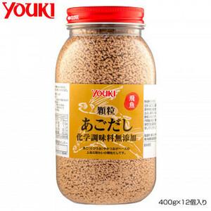YOUKI ユウキ食品 顆粒あごだし化学調味料無添加 400g×12個入り 210350(a-1661160)