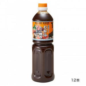 和泉食品 タカワお好みたこ焼きソース(濃厚) 甘口 1000ml(12本)(a-1654256)