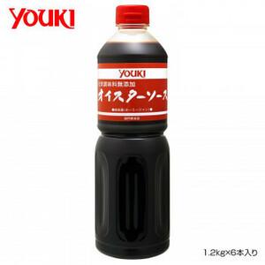 YOUKI ユウキ食品 化学調味料無添加オイスターソース 1.2kg×6本入り 212037(a-1661125)