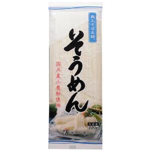 Miura Food Sao Soba Honpo Honor Sannow 220G × 20 мешков (A-1672681)