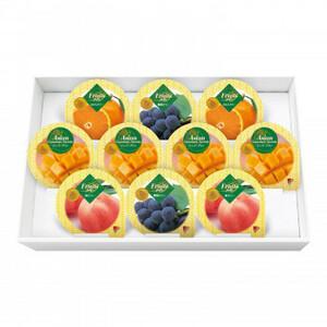 金澤兼六製菓 詰め合せ マンゴープリン&フルーツゼリーギフト 10個入×12セット MF-10(a-1633534)