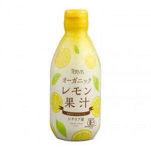 テルヴィス オーガニックシリーズ 有機レモン果汁  ビンタイプ 300ml×12本(a-1649590)
