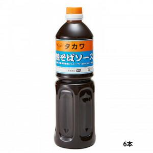 和泉食品 タカワ焼きそばソース(中濃) 1000ml(6本)(a-1654247)