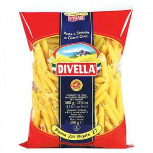 Divella Divella Pasta 27 Penne Zyti Rigante 500G 24 мешок набор 606-132 (A-1672577)