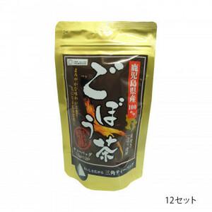 つぼ市製茶本舗 鹿児島県産ごぼう茶 ティーバッグ 18g(1.5g×12p) 12セット(a-1628022)