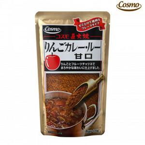 コスモ食品 直火焼 りんごカレールー甘口 170g×50個(a-1645254)