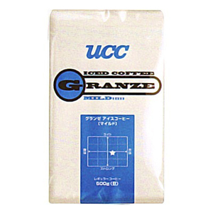 UCC上島珈琲 UCCグランゼマイルドアイスコーヒー豆AP500g 12袋入り UCC301187000(l-4560352861378)