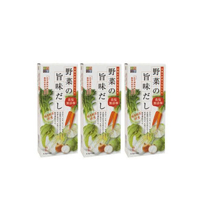 It is the taste of the four seasons vegetables (1 box 3.5g x 8) 3 box set (A-7119BT)