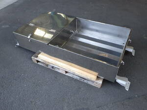 large truck cabin stainless steel tool box roof deck si- truck deck carrier storage BOX USED!