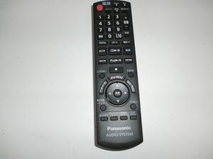 Panasonic パナソニック コンパクトステレオシステム コンポ オーディオ リモコン N2QAYB000524