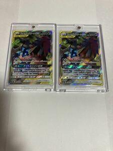 ゲッコウガ&ゾロアークGX SA SR 059/055 sm9a ナイトユニゾン ポケモンカードゲーム ポケカ スーパーレア スペシャルアート 2枚