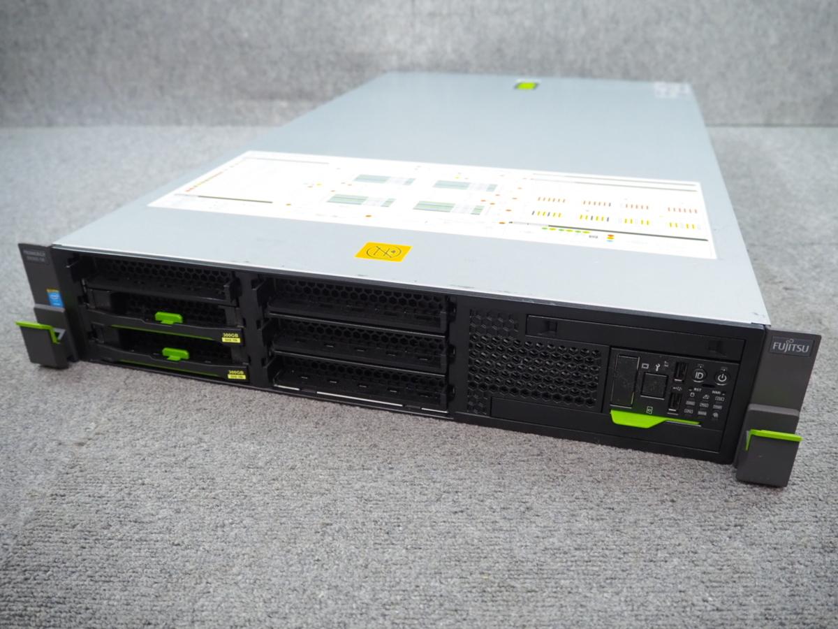[2] ☆ Fujitsu PRIMERGY RX300 S8 QC Xeon E5-2637 v2 3.50GHz×2/32G/300GB×2/RAID (D2616) ☆