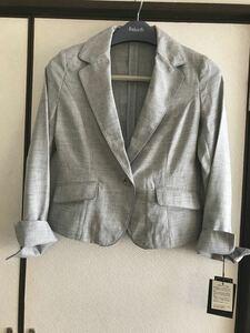 テーラードジャケット スーツ ブルーグレー 新品 M