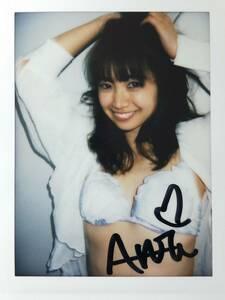 源藤アンリ【ANRI】DVD購入特典 直筆サイン入り 撮影現場チェキ e