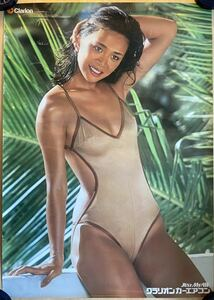 large bamboo ... Clarion girl car air conditioner poster swimsuit
