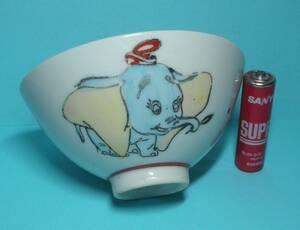 ダンボ ミッキーマウス? 子供茶碗 茶碗 昭和レトロ