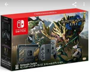 【新品】Nintendo Switch モンスターハンターライズスペシャルエディション
