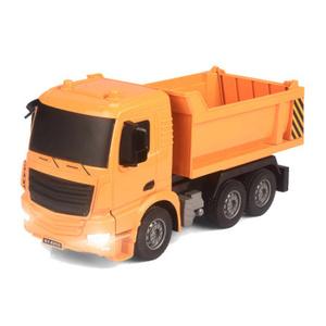 G1670 2.4グラム興味深いシミュレーションrcカーエンジニアリングトラックrcダンプトラックモデル子供のおもちゃ男の子誕生日