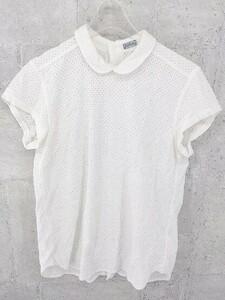◇ ◎ BEAMS BOY ビームスボーイ 半袖 シャツ ホワイト レディース 1002800998524