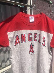 アナハイム エンジェルス ロゴTシャツ 大谷翔平所属 Tシャツ ロサンゼルス エンゼルス T-SHIRT LOS ANGELES ANGELS サイズ160