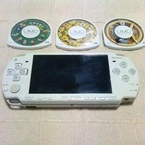 PSP本体 + ソフト3個セット SONY
