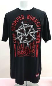 送料込み!【XLサイズ】セス・ロリンズ シールド WWE WWF プロレス Tシャツ