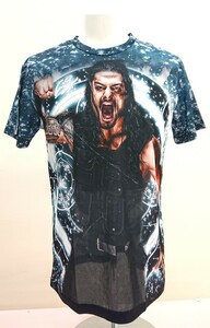 送料込み!【XLサイズ】ローマン・レインズ WWE WWF プロレス Tシャツ