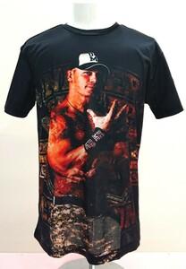 送料込み!【XXLサイズ】ジョン・シナ ワードライフ ブラック WWE WWF プロレス Tシャツ