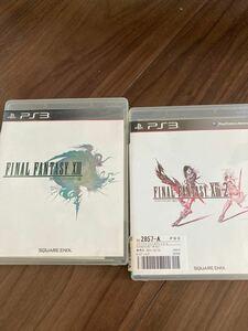 【PS3】 ファイナルファンタジーXIII [通常版] と13-2の二本立てです。